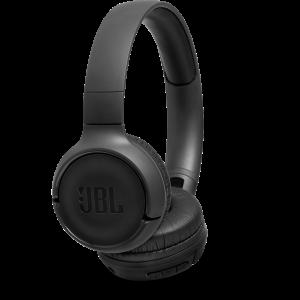 JBL Tune 500 On-Ear Trådløse Hodetelefoner (Svart)