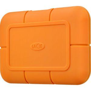 LaCie Rugged 500 GB ekstern SSD-disk med USB-C