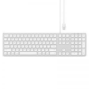 Satechi kablet Numerisk Tastatur sølv