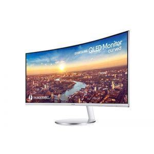 Samsung 34-tommer kurvet skjerm C34J791
