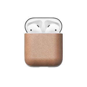 Nomad AirPods etui natural skinn