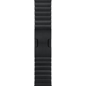 Apple Link Bracelet 38 mm - stellarsvart