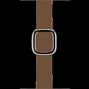 Apple 38 mm Modern Buckle i brun - Small