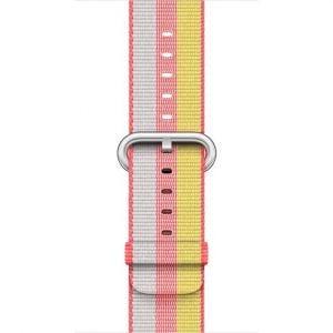 Apple vevet nylonrem 38 mm - rød