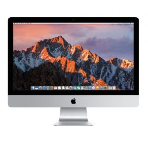 iMac 27-tommer 5K Retina med 3,6 GHz i9, 32 GB RAM, 3 TB Fusion Drive og Magic Trackpad