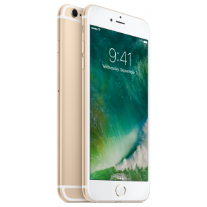 iPhone 6s Plus 128 GB  i gull