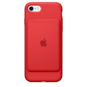Apple iPhone 7 Smart Battery-deksel - rød