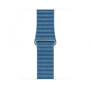 Apple Leather Loop 44 mm - Cape Cod Blue - medium