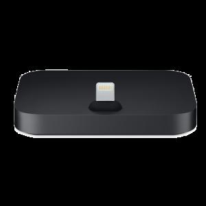 Apple Lightning-dokkingstasjon for iPhone - svart