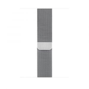 Apple Milanese Loop 44 mm - sølv