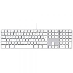 Apple Keyboard med numerisk tastatur - engelsk (US)