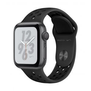 Apple Watch Series 4 Nike+ GPS 40 mm - stellargrå med antrasitt/svart Nike Sport Band