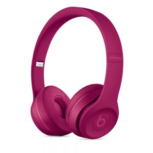 Beats Solo3 trådløse åpne hodetelefoner – Neighborhood Collection – lys burgunderrød