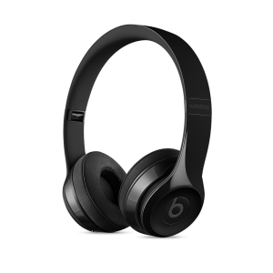Beats Solo3 trådløse hodetelefoner - blank svart