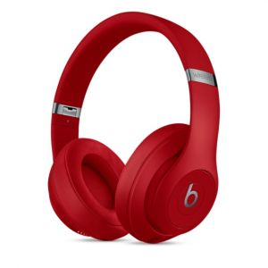 Beats Studio3 trådløse lukkede hodetelefoner – rød