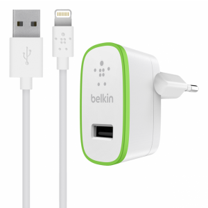 Belkin BOOST↑UP vegglader inkl Lightning-kabel