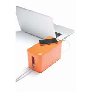 BlueLounge CableBox mini - oransje