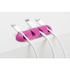 BlueLounge CableDrop Multi 2-pakning - grønn og rosa