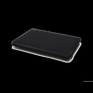 C6 Neoprene Zip Sleeve for MacBook 12-tommer - svart