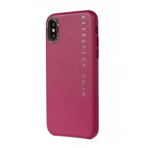 Decoded iPhone X/XS Skinndeksel - Rosa