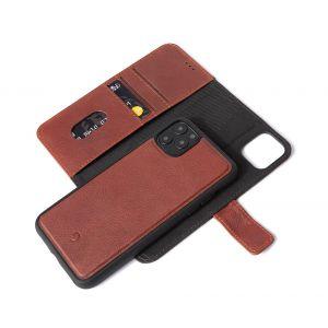 Decoded lommeboketui 2-i-1 til iPhone 11 Pro Max - Brun