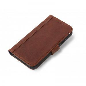 Decoded lommeboketui til iPhone XS - brun