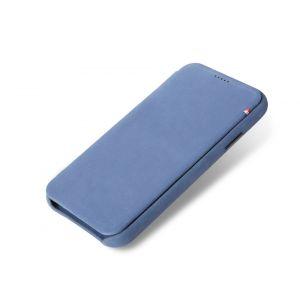 Decoded slim lommeboketui til iPhone XR - blå