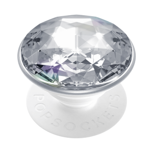 Popsockets Disco Crystal Silver