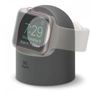 Elago W2 docking til Apple Watch - mørk grå