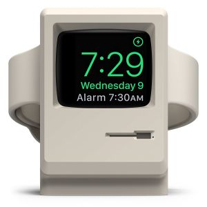 Elago W3 docking til Apple Watch - hvit
