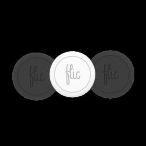 Flic - smartknapp 3-pakning svart + hvit