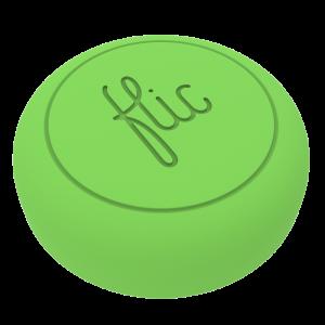Flic - Smartknapp grønn