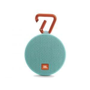 JBL Clip2 vanntett bærbar høyttaler - turkis