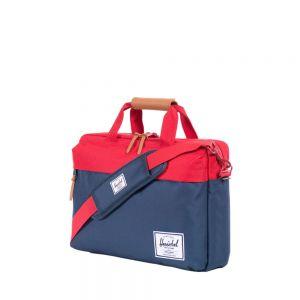 Herschel Clark Messenger Bag - marineblå