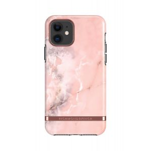 Richmond & Finch deksel til iPhone 11 - Pink Marble/Rose