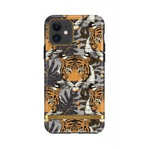 Richmond & Finch deksel til iPhone 11 - Tropical Tiger/Gold