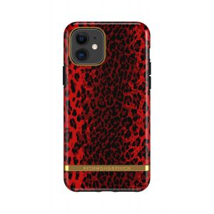 Richmond & Finch deksel til iPhone 11 - Red Leopard