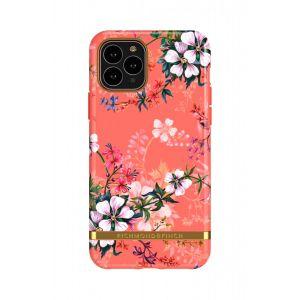 Richmond & Finch deksel til iPhone 11 Pro Max - Coral Dreams/Gold