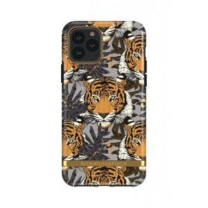Richmond & Finch deksel til iPhone 11 Pro - Tropical Tiger/Gold