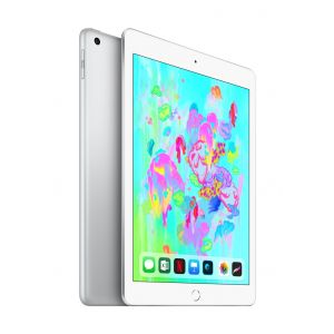 iPad Wi-Fi 128 GB - sølv