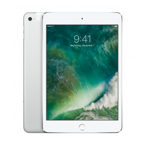 iPad mini 4 Wi-Fi + Cellular 128GB i sølv