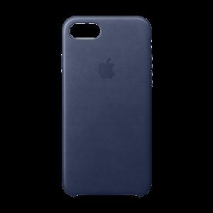 Apple skinndeksel for iPhone SE/8/7 - midnattsblå