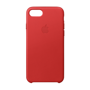 Apple skinndeksel for iPhone 8/7 - (PRODUCT)RED