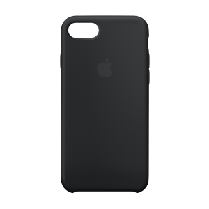 Apple silikondeksel for iPhone 8/7 - svart