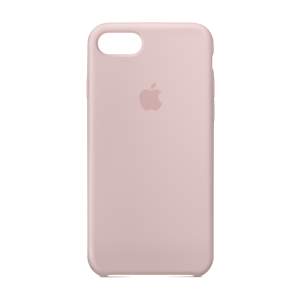 Apple silikondeksel for iPhone 8/7 - korallrosa