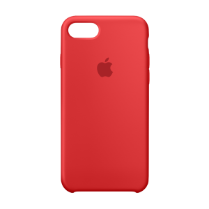 Apple silikondeksel for iPhone 8/7 - (PRODUCT)RED