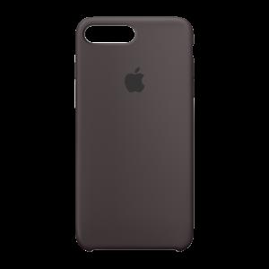 Apple silikondeksel for iPhone 7 Plus - kakao