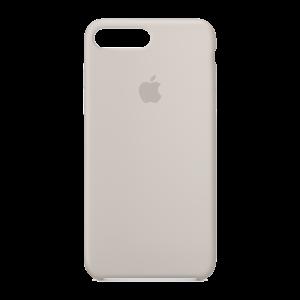 Apple silikondeksel for iPhone 7 Plus - stengrå