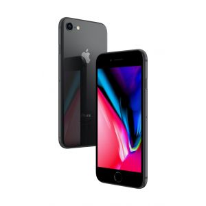 iPhone 8 128 GB - stellargrå
