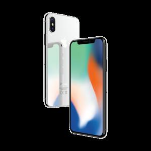iPhone X 256 GB – sølv